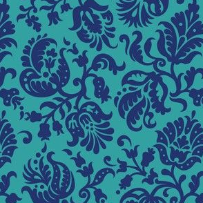 Feathered Damask (4d)