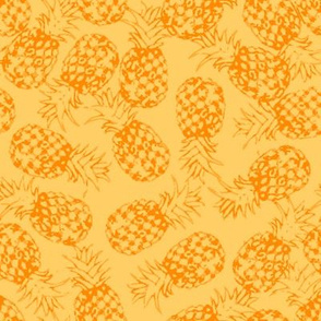yellow pineapple toss