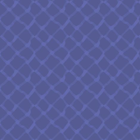 Blue Diamond Allover fabric by rickrackscissorsstudio on Spoonflower - custom fabric