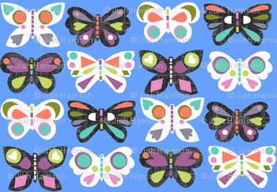 Butterfly Parade - Celadon
