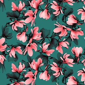 floral green