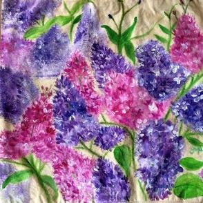 Fragrant lilacs