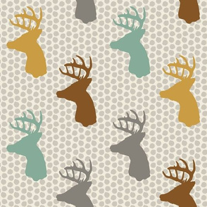 Deer on Dots