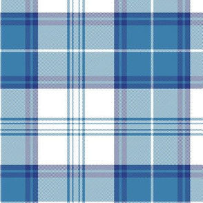 Menzies blue dress tartan