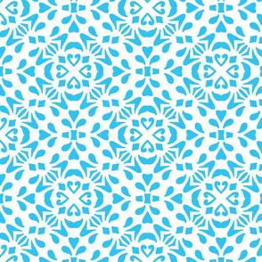 Blue Diamond Tile