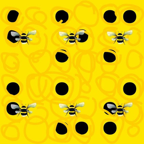 bumblebee with Braille