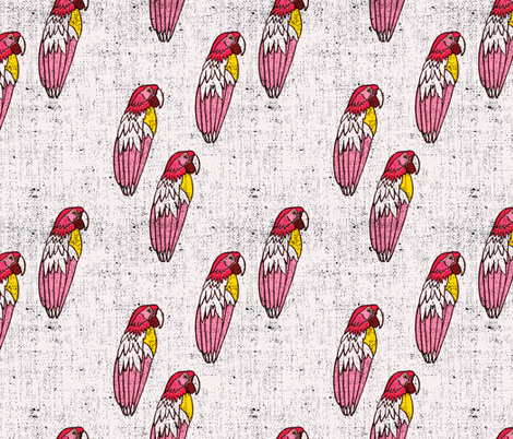 bananarama_parrot fabric by holli_zollinger on Spoonflower - custom fabric