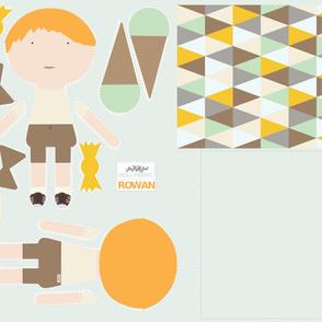 BOY Doll Fabric - Rowan + Quilt