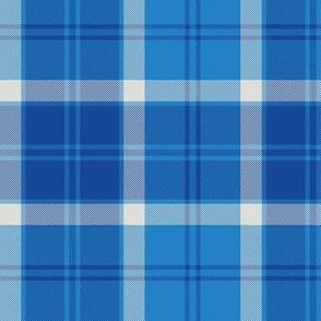 Bannockbane trade tartan - blue