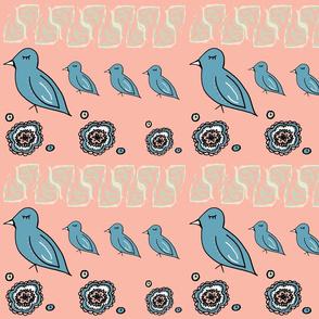 Boho Dream Birds