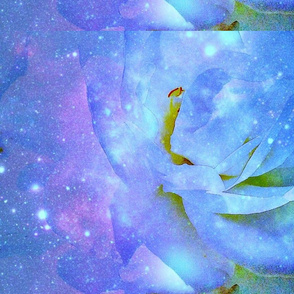 Cosmic Roses in Blue
