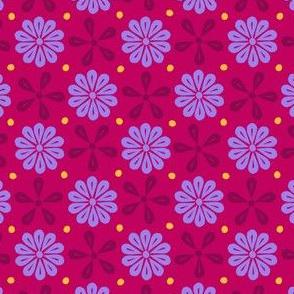Peoria La - Flowers (Red)