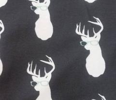 Hipster Deer Navy