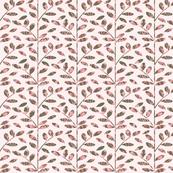 Foilage On Pink