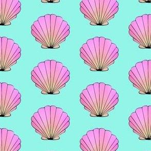 Aqua Seashell