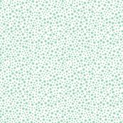 Mini Stars Baby Mint with White Base