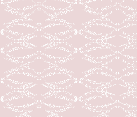 Vernazza pink fabric by arboreal on Spoonflower - custom fabric