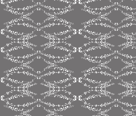 Vernazza charcoal fabric by arboreal on Spoonflower - custom fabric