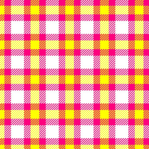 PINK LEMONADE PLAID