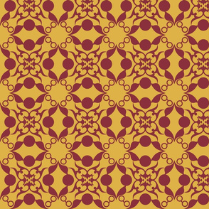 Magical House Damask Four