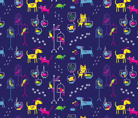 Petshop (purple) fabric by edward_elementary on Spoonflower - custom fabric