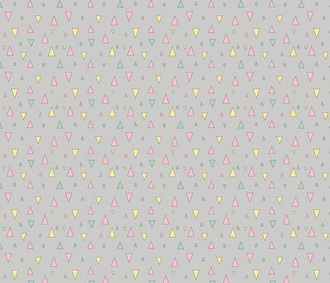 Brighter Days Triangles fabric by deannadolbel on Spoonflower - custom fabric