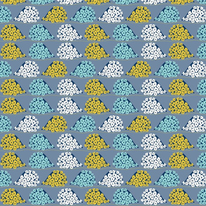 Pinehog Conga - 6cm motif