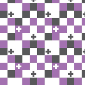SquareCross Lilac3 Reversed
