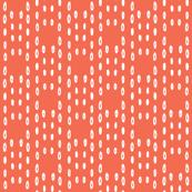salmon coral doodles