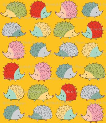 hedgehogsYELLOW