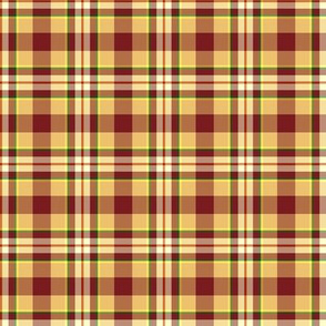 Rooster Plaid