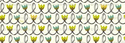 Mossy Garden Tulips