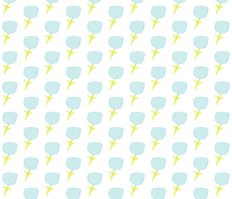 poppies MINI -sea glass fabric by drapestudio on Spoonflower - custom fabric