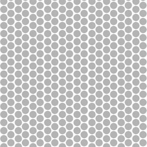 Grey Dots on White