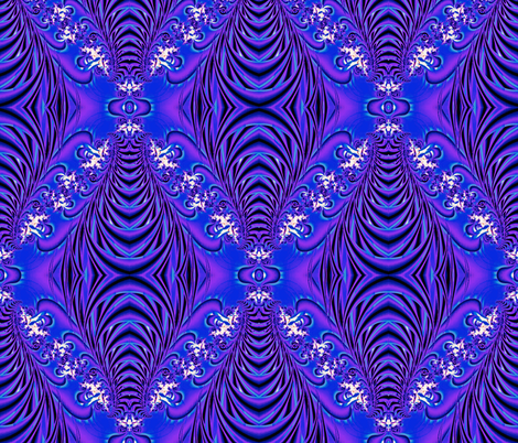 Purple Flow fabric by whimzwhirled on Spoonflower - custom fabric