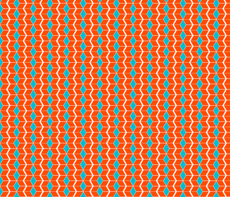 harvest squares fabric by evenspor on Spoonflower - custom fabric