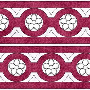 Medieval Deck Trim Red