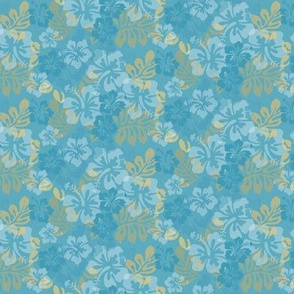 Hawaiian Lei Flower Pattern