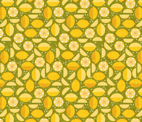 Let's Make Lemonade fabric by thecalvarium on Spoonflower - custom fabric