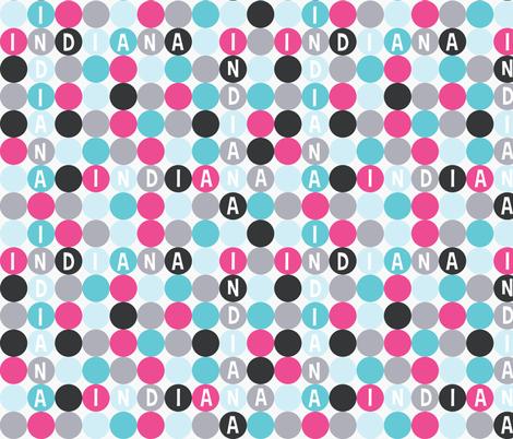 personalised name design - CROSSWORD fabric by spunkymonkees on Spoonflower - custom fabric