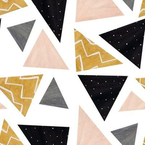 Patterned triangles