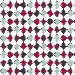 Harlequin Diamond Coordinating Pattern II