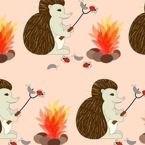 hedgehog_cooking bugs