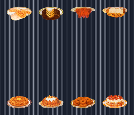 emma's carbs & jellos fabric by mossbadger on Spoonflower - custom fabric