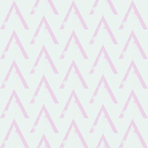 Pink Green Baby Triangle