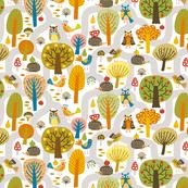 hedgehogs and birds