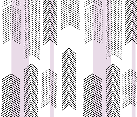 chevron stripe in lavender fabric by cristinapires on Spoonflower - custom fabric