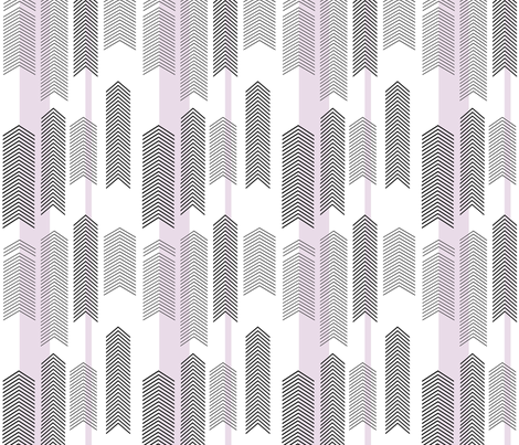 chevron stripe in lavender SMALLSCALE fabric by cristinapires on Spoonflower - custom fabric