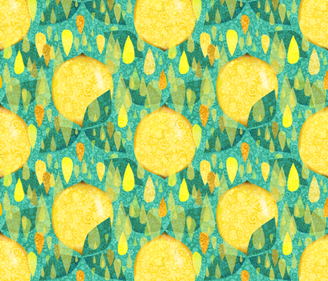 limoni fabric by gaiamarfurt on Spoonflower - custom fabric
