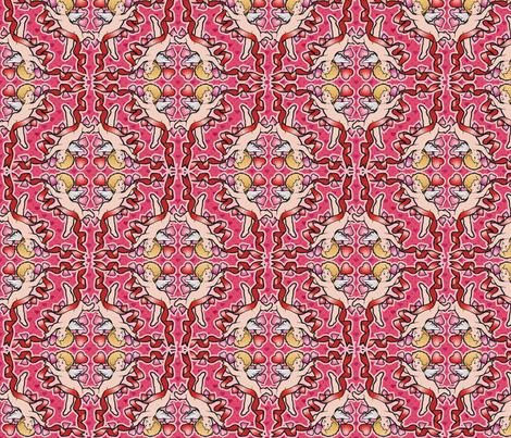 cupid fabric by hannafate on Spoonflower - custom fabric